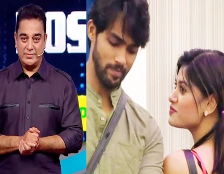 Aarav described his KISS to Oviya | Bigg Boss Tamil | Kamal Haasan Speech in Today's Episode