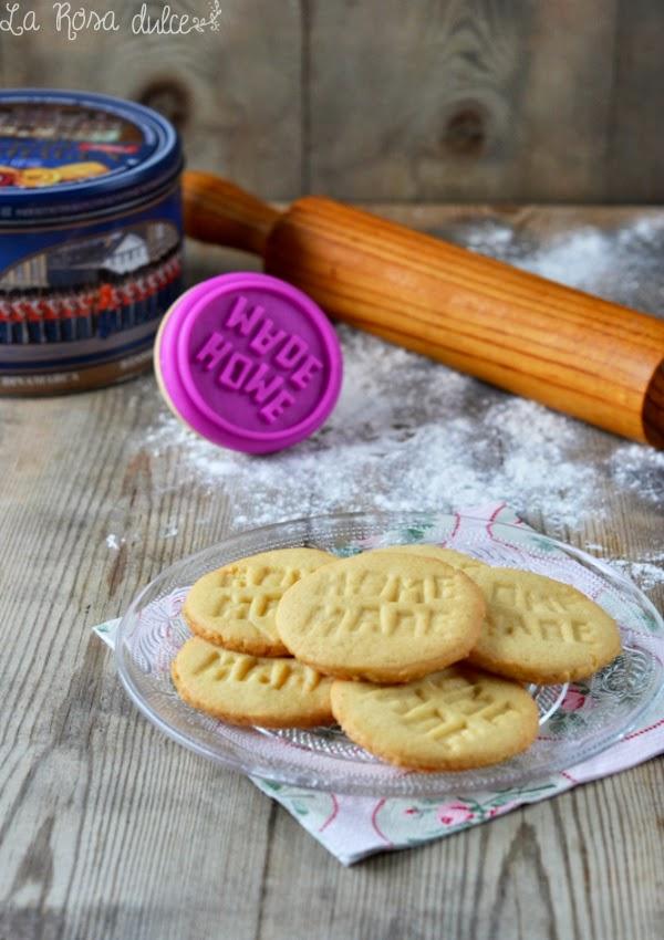 Galletas de mantequilla sin lactosa