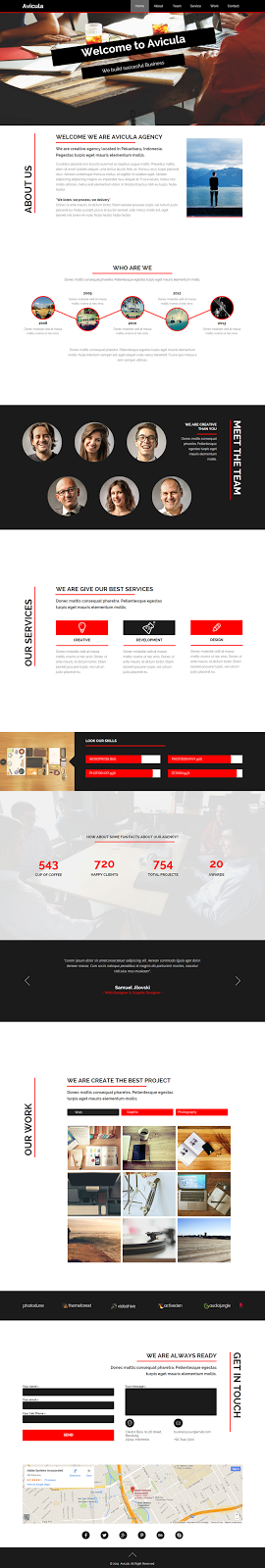 Free Creative Muse Template