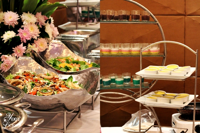 Salad and Dessert Buffet Set Up by Hizon's Catering