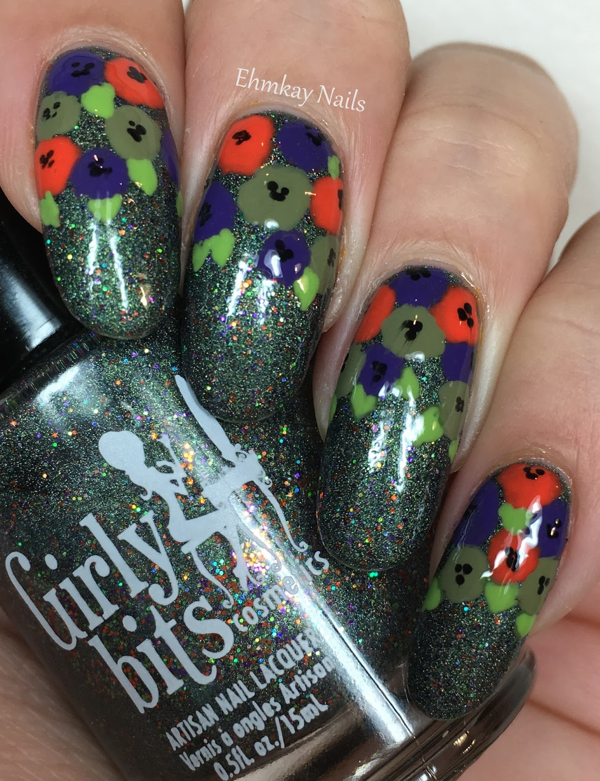 ehmkay nails: Halloween Nail Art: Girly Bits Abracapocus ...
