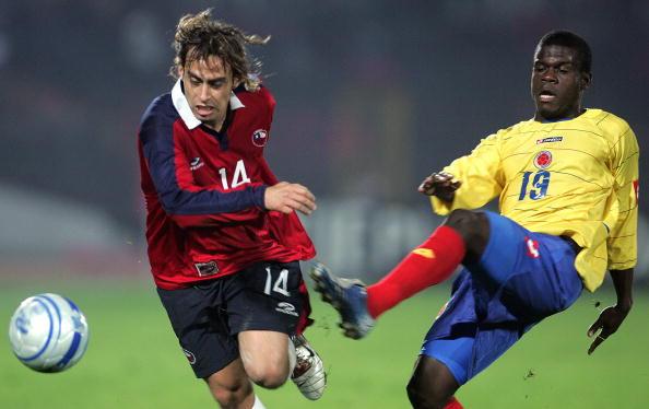 Chile y Colombia en partido amistoso, 16 de agosto de 2006