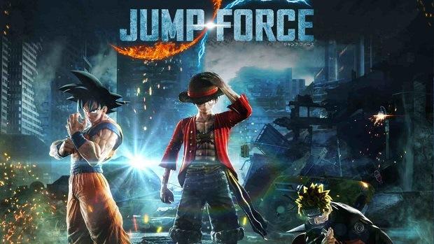 """""""Jump Force"""" Game bom tấn đối kháng Songoku, Naturo, Zoro 2019"""