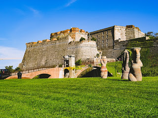The Fortezza del Priamar was built by the Genoese to protect the city of Savona in the 16th century