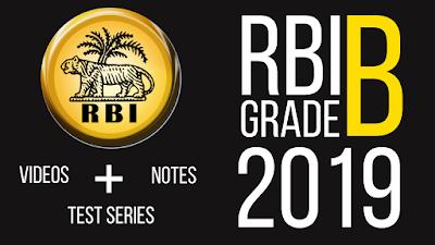 rbi grade b online course