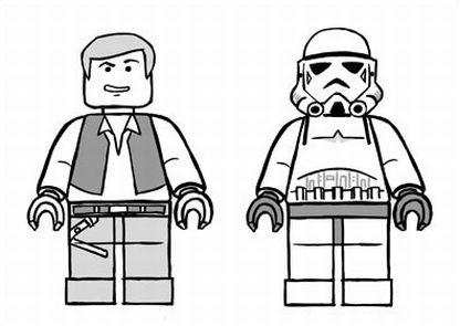 To Colorindo Lego Star Wars Para Colorir