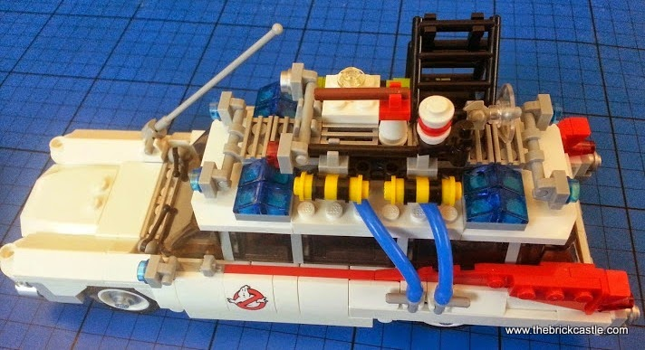 The LEGO Ghostbusters Ecto-1 Car and Minifigures set 21108 vehicle roof