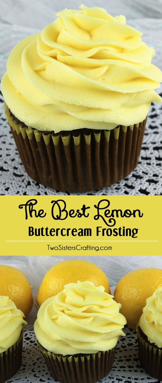 Classic Buttercream Frosting flavored with fresh lemons makes this Best Lemon Buttercream Frosting one of those go-to frostings that will always be a hit.