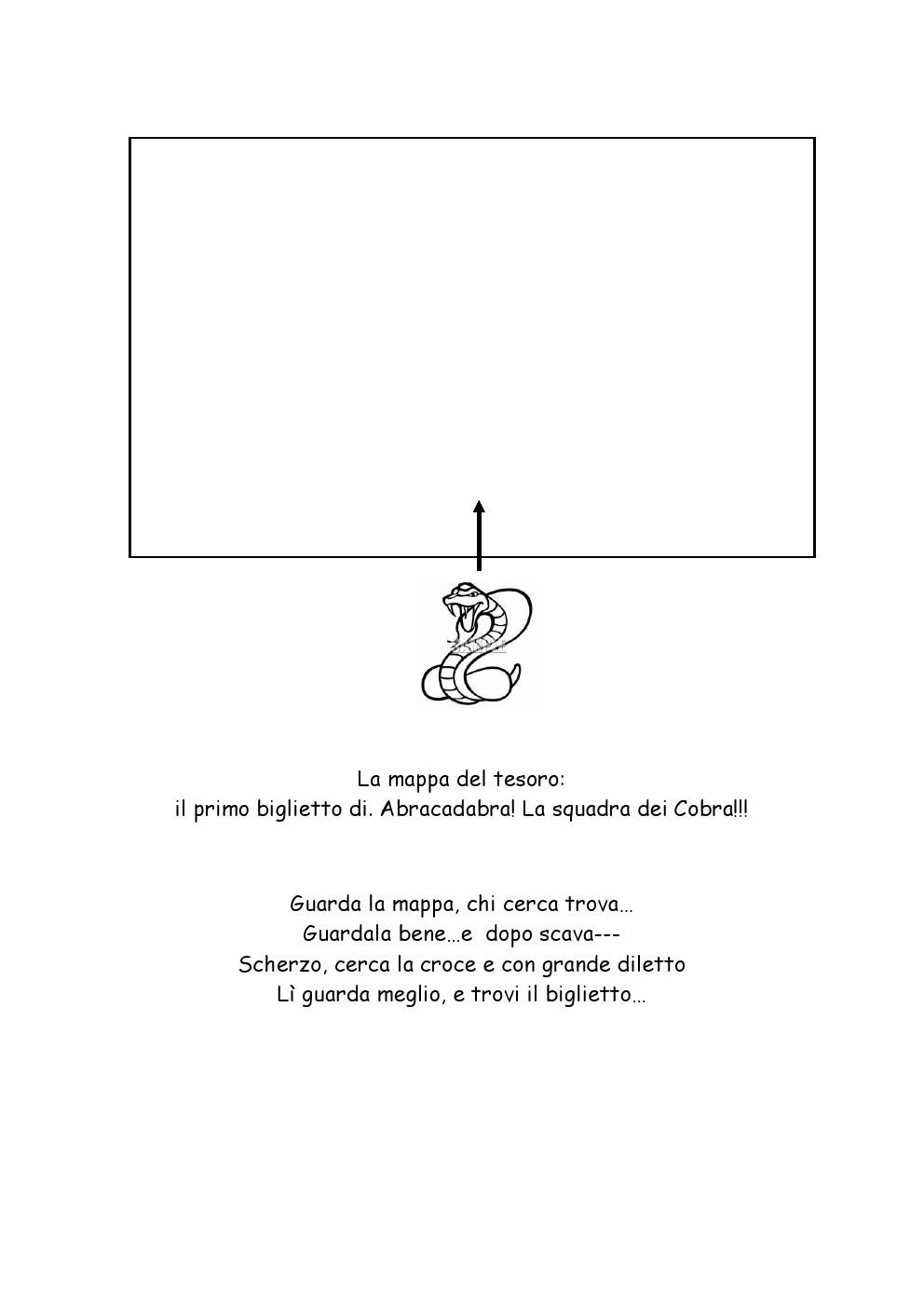 Favoloso La caccia al tesoro di Viola: Una caccia al tesoro in giardino  DC92