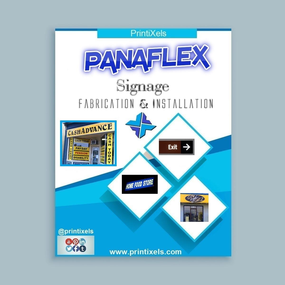 Panaflex Signage Fabrication & Installation