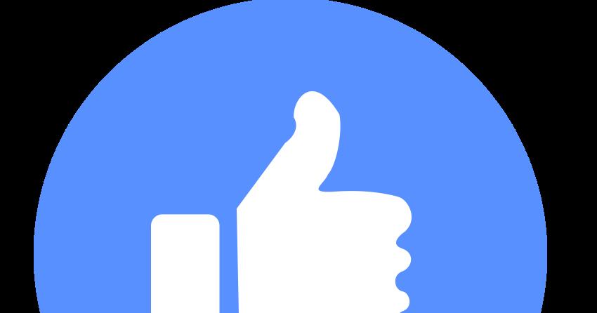 Facebook New Like Icon Set 2016