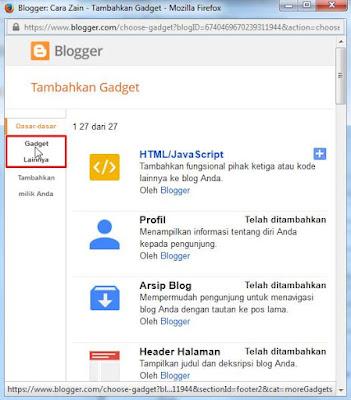 Cara Membuat Widget Join This Site Di Blog Terbaru