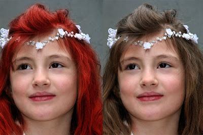Tutorial cara Merubah Warna Rambut Dengan GIMP