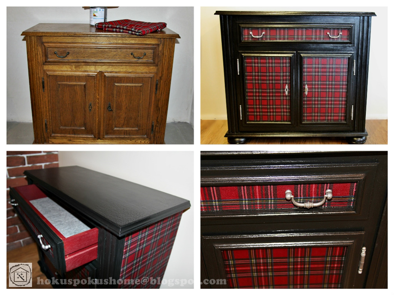 Tartan furniture