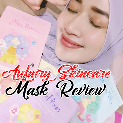 New Mask Collection Review by Aufairy Skincare