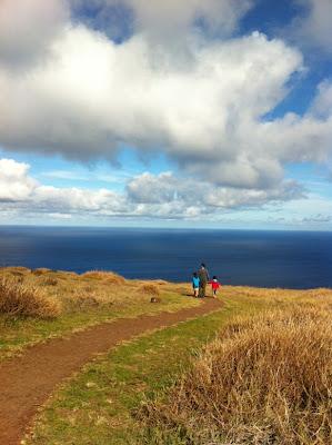 Passeando pela Ilha de Páscoa