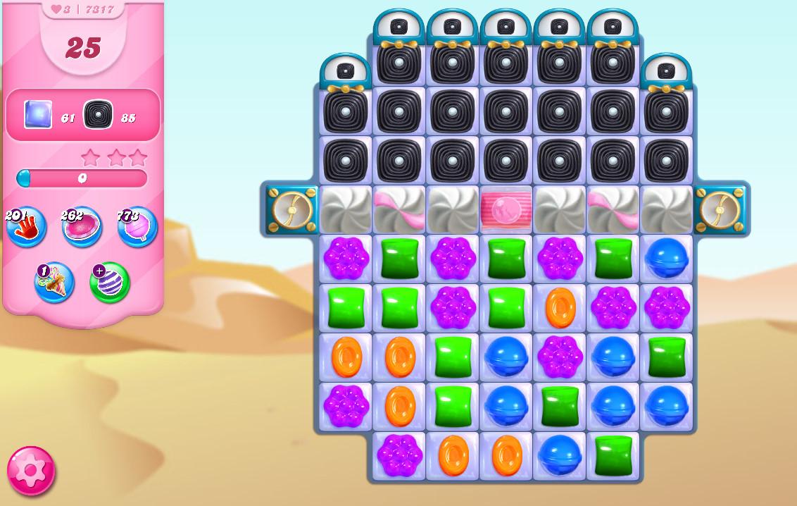 Candy Crush Saga level 7317