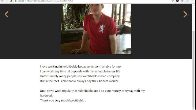 Lowongan Pekerjaan online Di KOLOTIBABLO 2018 Untuk Siapapun Dan Di Manapun Plus Tanpa Ijazah