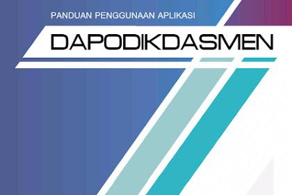 Download Panduan Penggunaan Aplikasi DAPODIKDASMEN Versi 2019.c