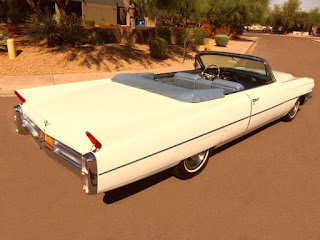 1963 Cadillac DeVille Convertible Rear Right