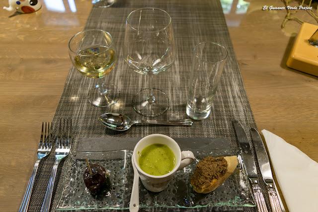 Gastronomía L'Ostal en Perigord (entrantes) - Velines, Francia por El Guisante Verde Project
