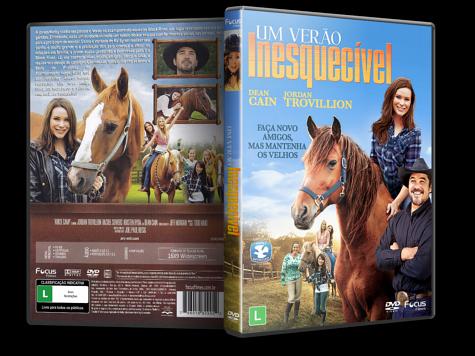 Capa DVD Um Verão Inesquecível