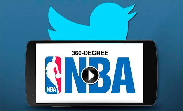 Twitter emitirá contenido exclusivo de la NBA