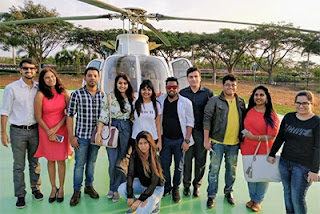 India's first helicopter taxi service