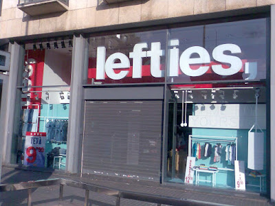 Lefties in Barcelona