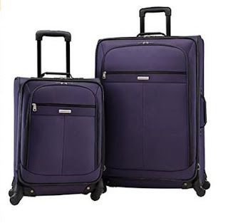 American Tourister Lightweight Two-Piece Spinner Set