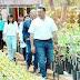 El alcalde Renán Barrera Concha visita las instalaciones del vivero de Kanan Kab A.C.