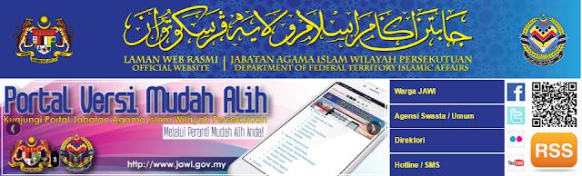 Rasmi - Jawatan Kosong (JAWI) Jabatan Agama Islam Terkini 2019
