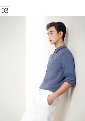ba54d79a1e40 Lingy s Soul Searching  Summer styles up with Kim Soo Hyun at ZIOZIA.