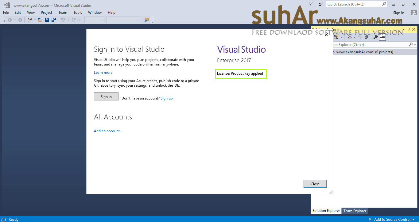 how to use microsoft visual studio 2017