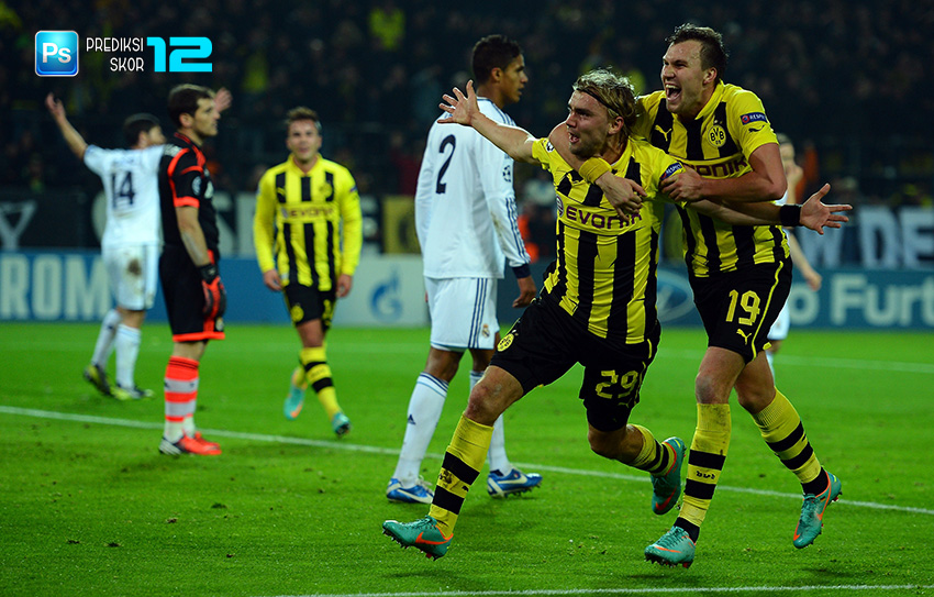 Prediksi skor Borussia Dortmund vs Real Madrid 28 September 2016