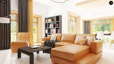 Cách bố trí nội thất phòng khách sang trọng