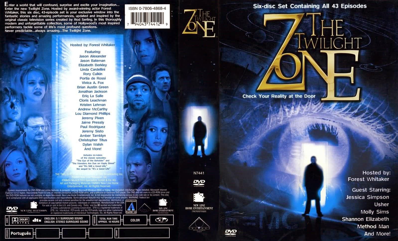 Além da Imaginação 2002 DVD Capa