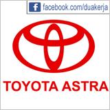 Info Lowongan Kerja Hari Ini PT Toyota Astra Motor Terbaru September 2015