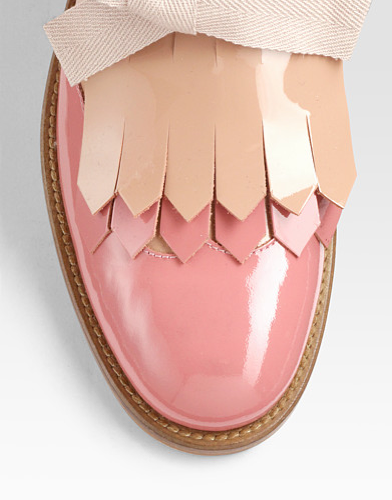 ad2acdd62399 Then I found these candy-colored kiltie loafers with the soft bows.