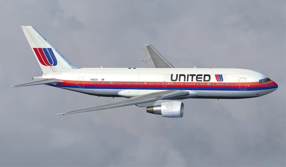 StephenG's Flight Simulator painting blog: United Airlines Saul Bass