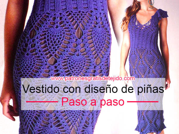 Los mejores consejos para tejer un vestido crochet | Crochet y Dos ...