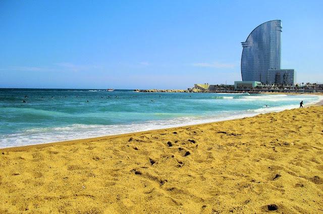 O que fazer em Barcelona Praia Barceloneta