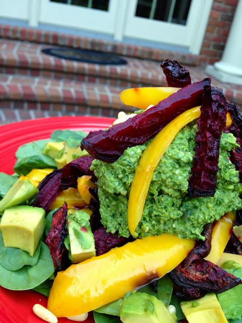 Crimson Matchstick Mashup Salad #beautybeyondbones #glutenfree #vegan #vegetarian #paleo #food #edrecovery