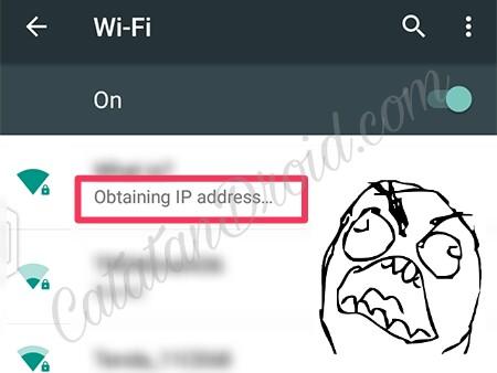Cara Fix Wifi Obtaining IP Address Terus Tidak Bisa Konek Di Android