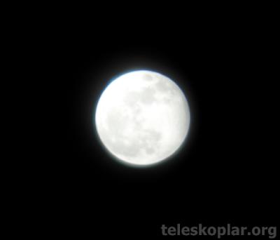 Lizer f30070m teleskopu ay gözlemi