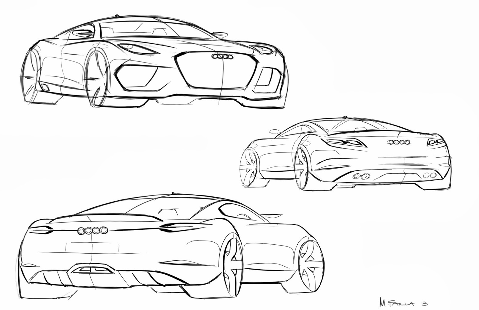 Matthew Failla Design Audi Coupe