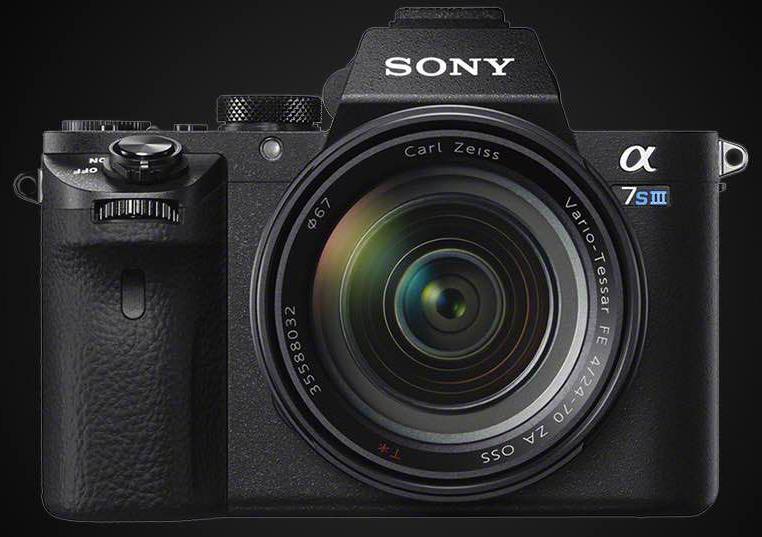Возможный внешний вид Sony A7S III