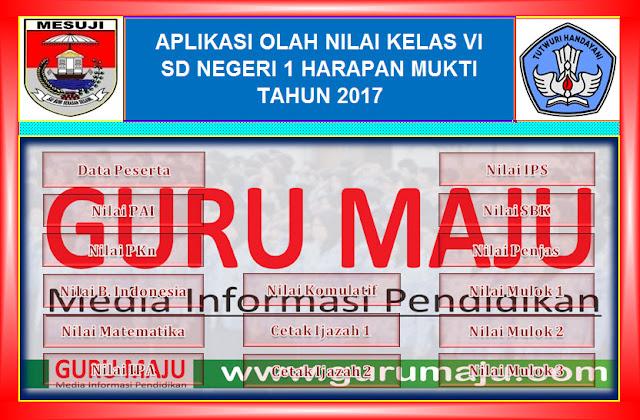 Download Aplikasi Nilai dan Cetak Ijazah TP. 2016/2017