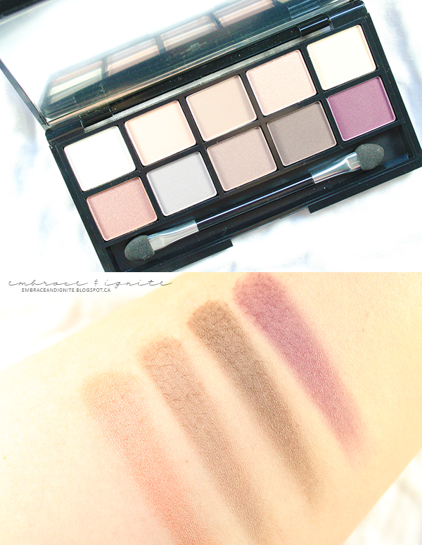 Quo Cosmetics Prismatic Eye Palette in Infinity