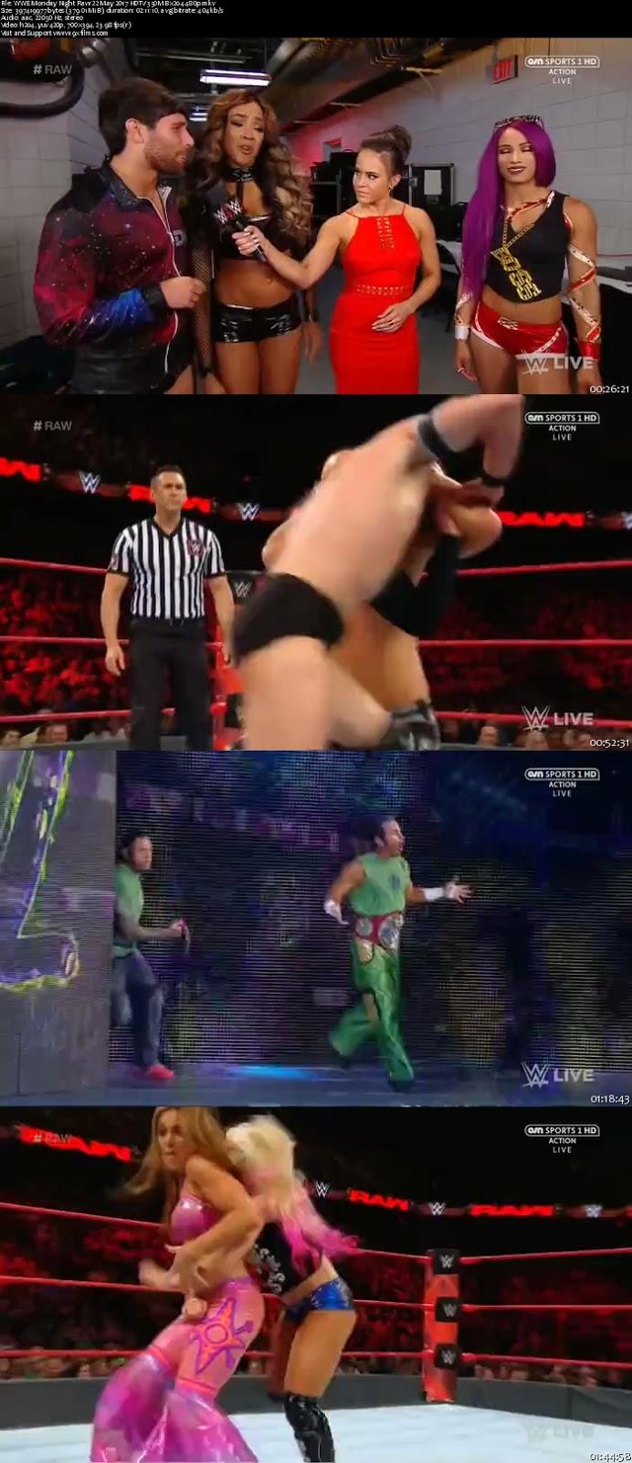 WWE Monday Night Raw 22 May 2017 HDTV 480p